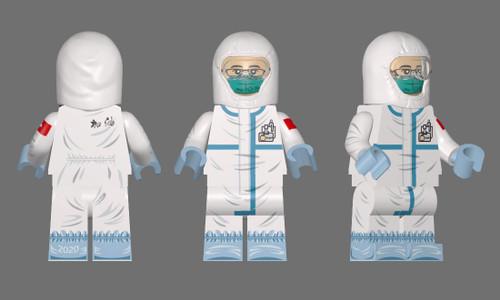 Custom Minifigures Fantastic Lamp Nurse