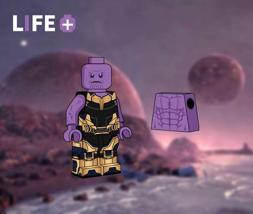 Custom Minifigures Life Plus Final Boss and Armors