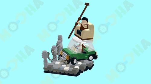 MiniMOCha Mr Bean Minicooper Drifting Digital Building Instruction