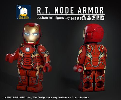 Custom Minifigures miniGAZER R.T. Node Armor