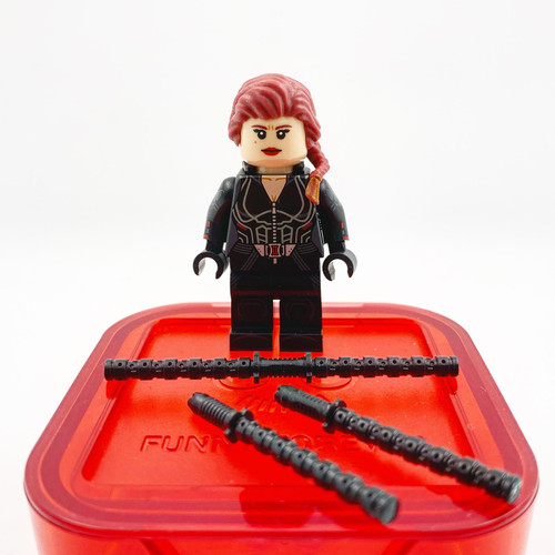 Custom Minifigures Funny Brick Widow