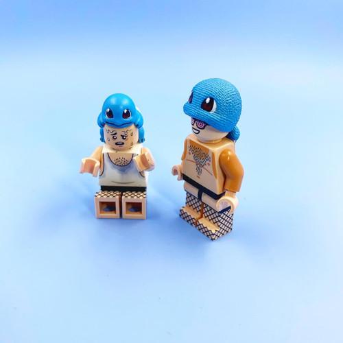 Custom Minifigures Nobrand Sqirtle Hats