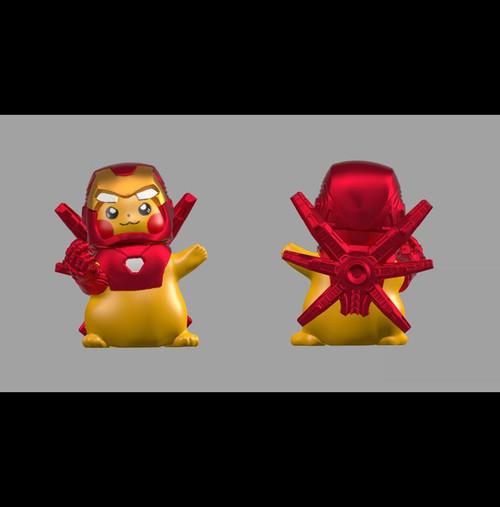 Custom Minifigures Fantastic Lamp Iron Pika