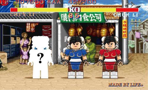 Custom Minifigures Life Plus Chun-Li