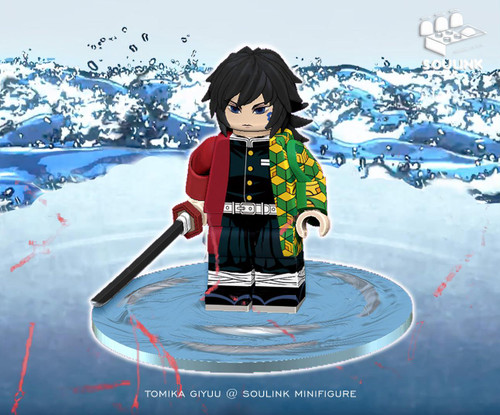Minifigures Soulink Tomioka Giyuu