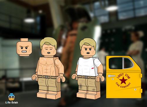 Custom Minifigures Life Brick Transformed Steven