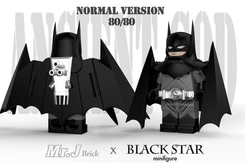 Custom Minifigures Blackstar x MJB  Ancient God