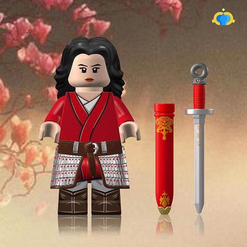 Custom Minifigures Fantastic Lamp Mulan Genearl