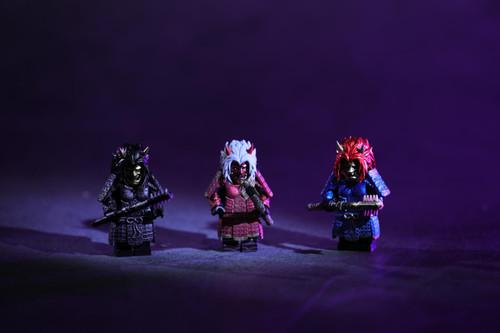 Custom Minifigures Cosmos Hannya armor