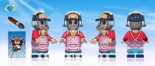 Custom Minifigures Fantastic Lamp Toriyama