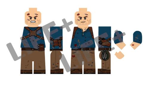 Custom Minifigures Life Plus Treasure Nathan