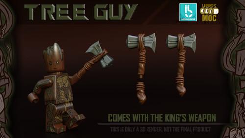 Custom Minifigures LB LCM Tree Guy