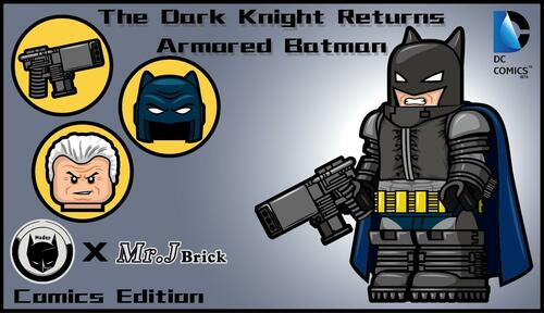 Custom Minifigures MrJ x Hades Armored Bat