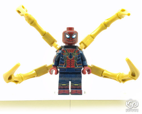 Custom Minifigures Minfinity Ironspider