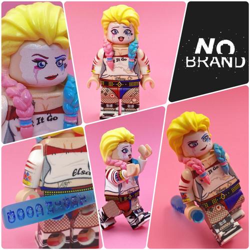 Custom Minifigures No Brand Joker Elsa