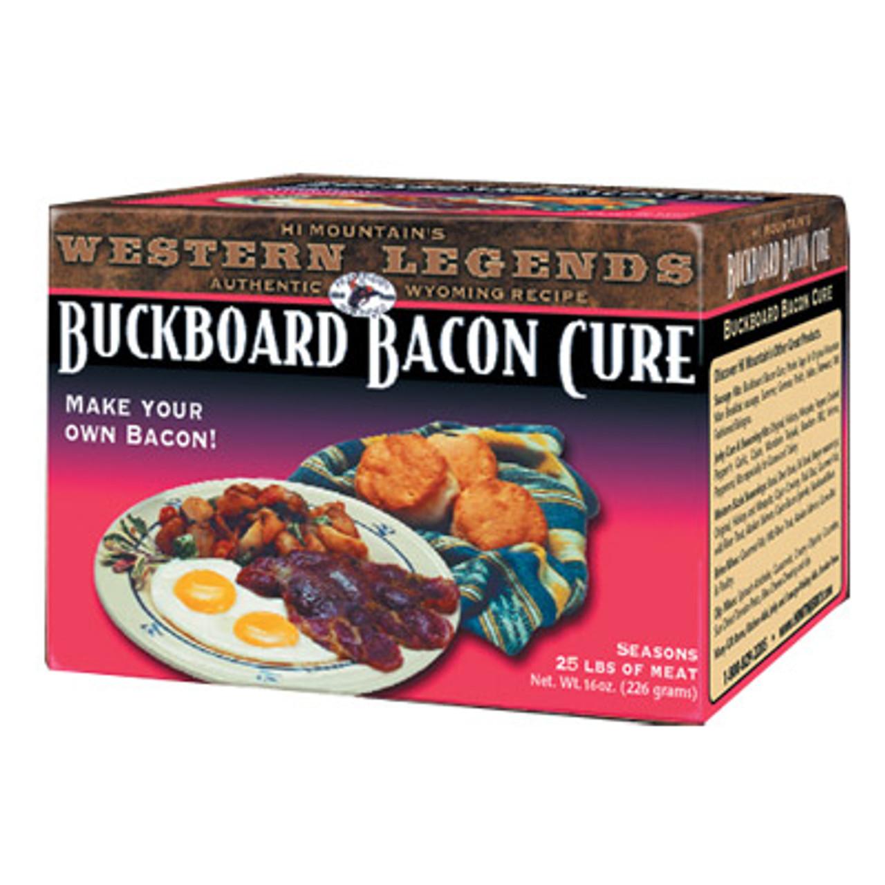 Buckboard Bacon Cure by Hi Mountain