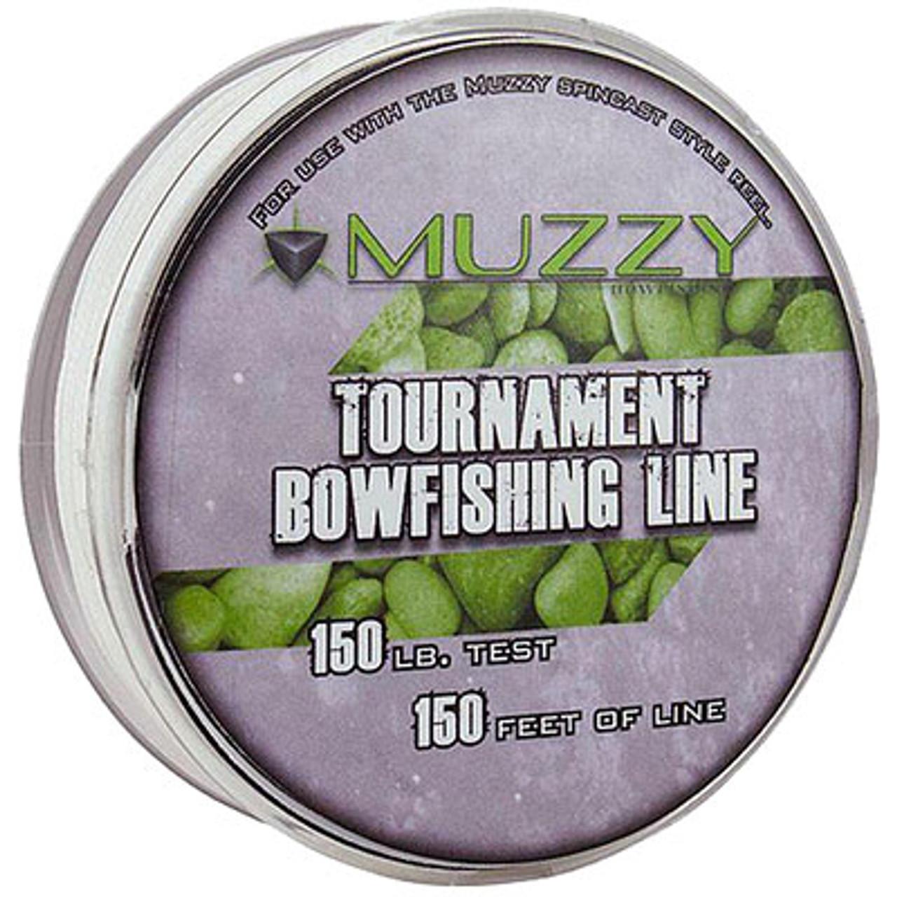 Tournament 150# White Bowfishing Line by Muzzy