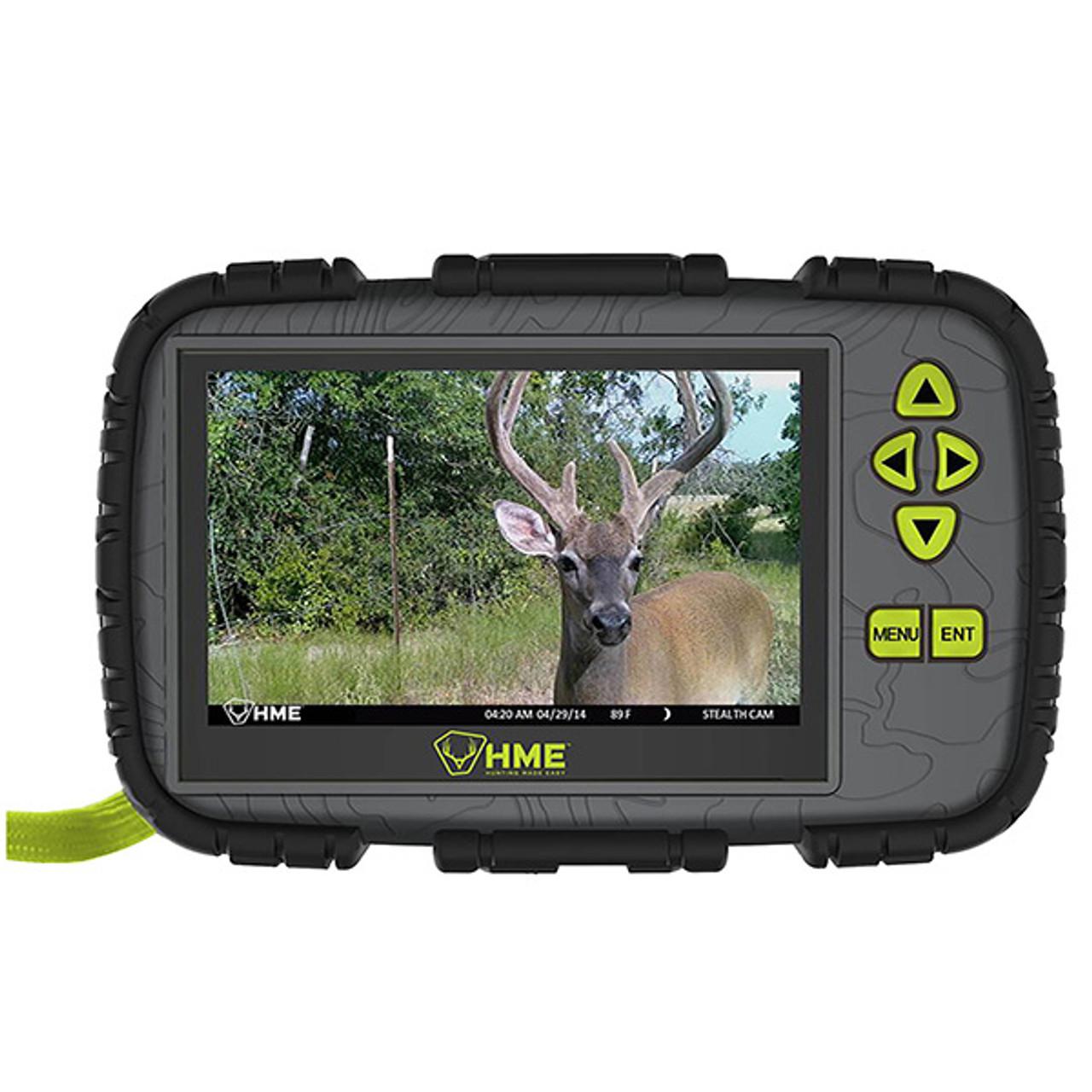 "HME SD Card Reader 4.3"" LCD Screen"