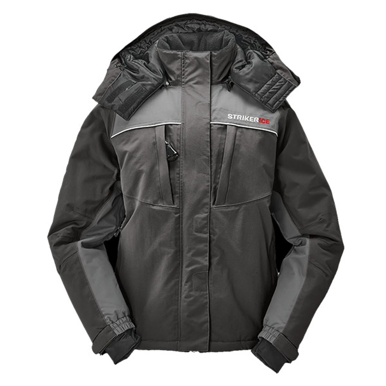 New 2020 Black/Gray Striker Ice Women's Floating Prism Jacket