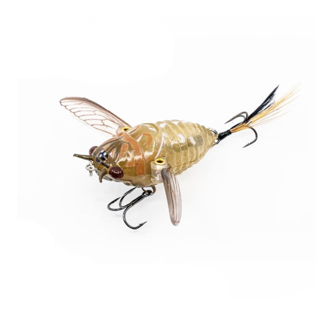 "Ripple Cicada 1.75"" Topwater Bait"