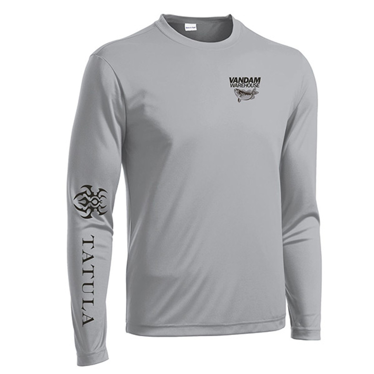 VanDam Warehouse Daiwa Tatula Performance Shirt - Silver Front