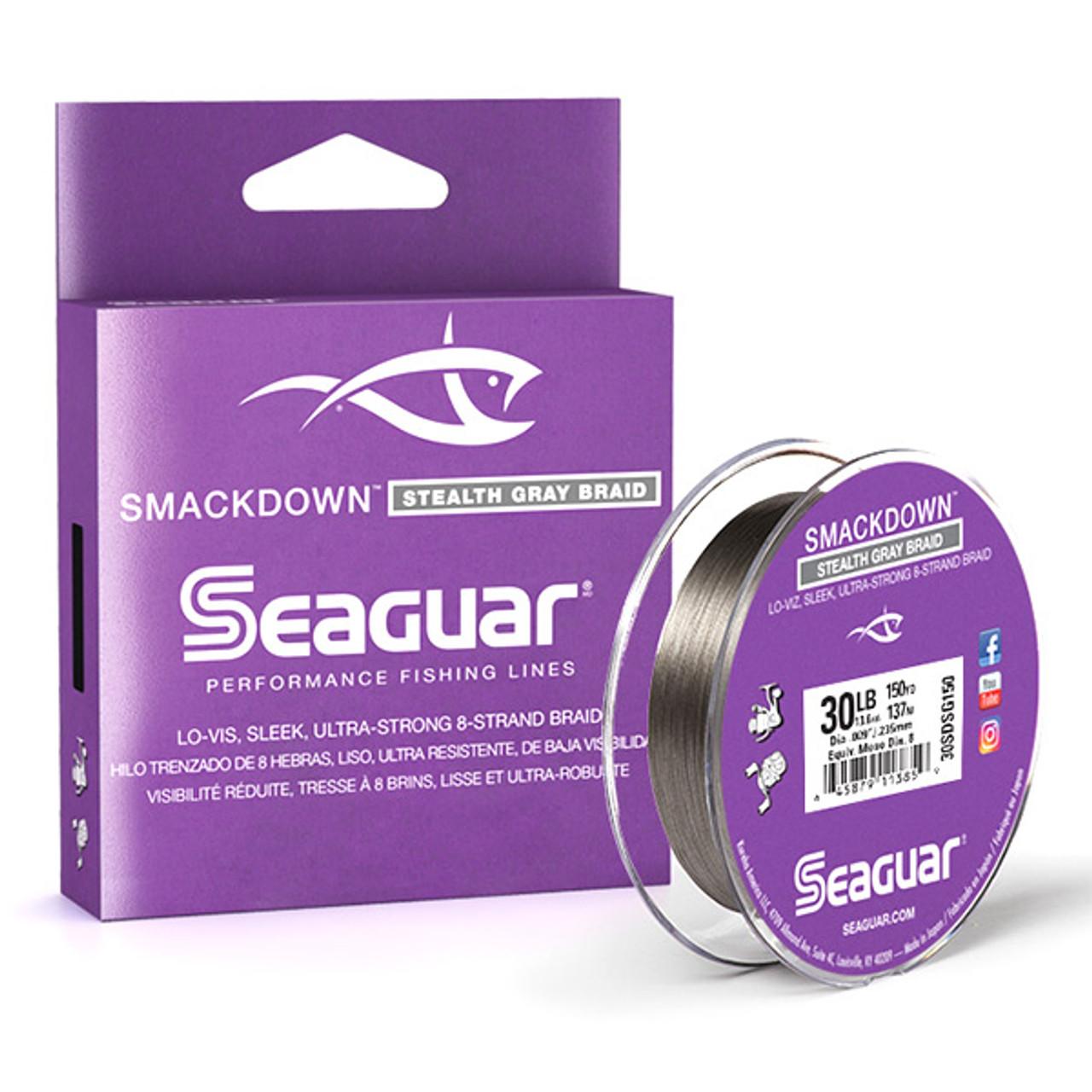 Seaguar Smackdown Stealth Gray