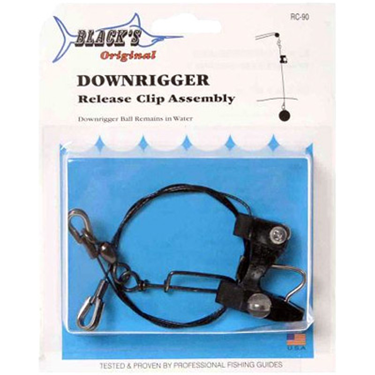 Downrigger Fishing Release Snap Stacker Fast Locking Trolling Clip Accessories