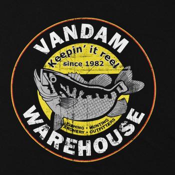 VanDam Warehouse Keepin It Reel Tee - Design