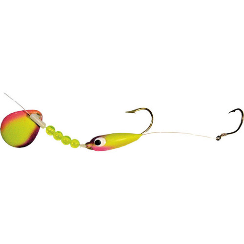 Mission Tackle Floating Walleye Spinner Combo