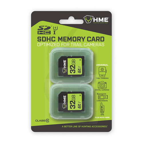 32GB 2-Pack SD Cards by HME Products