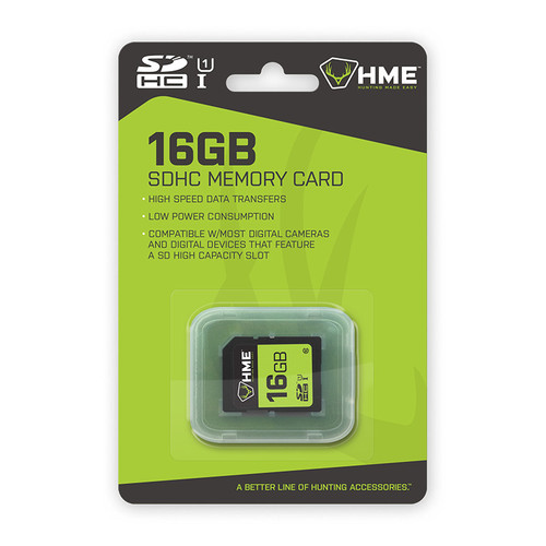 16GB Single SD Card by HME Products