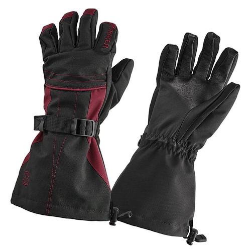 Striker Ice Women's Black/Burgundy Stella Gloves