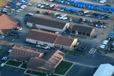 Store Aerial View