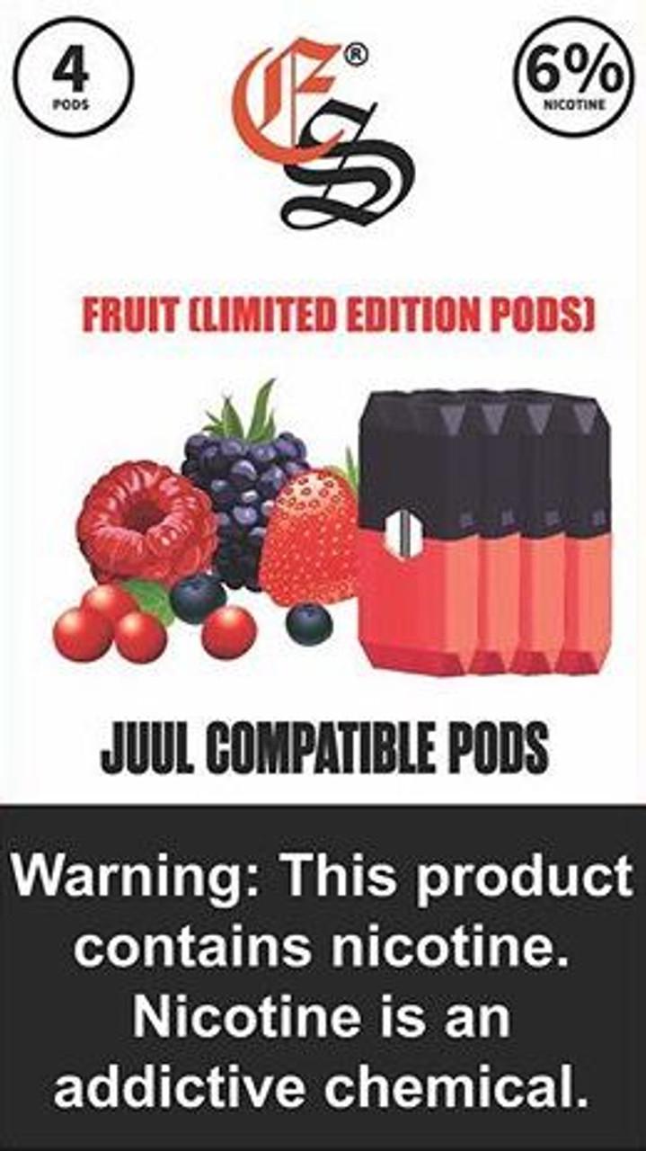 Eonsmoke pods Fruit Limited Edition 4ct