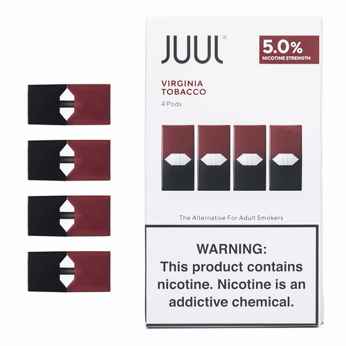 JUUL pods Virginia tobacco cheap