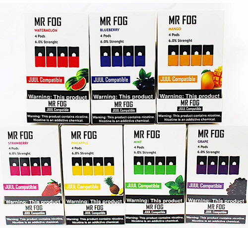 Mr  Fog pods for JUUL 4ct