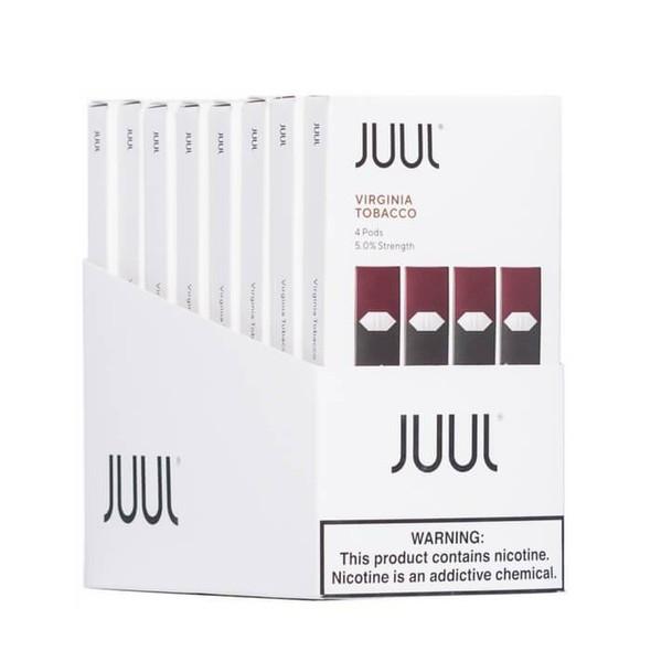 Authentic Virginia Tobacco pods  4 ct (8 packs)