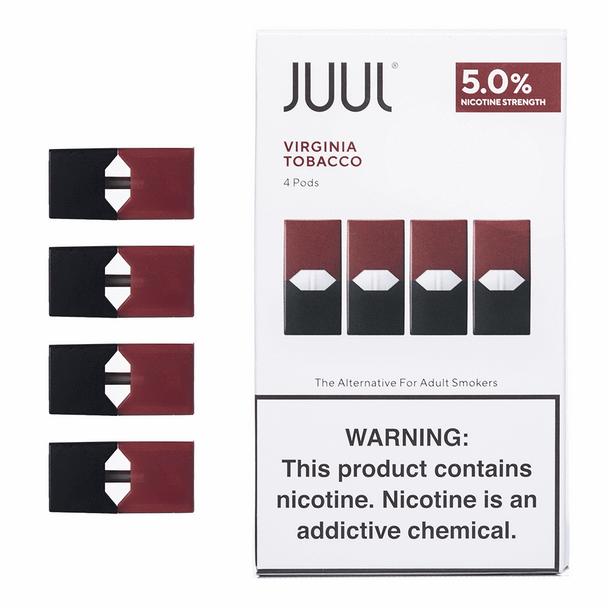 JUUL pods Virginia tobacco cheap