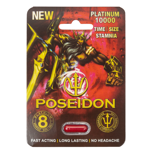 Poseidon Platinum Red