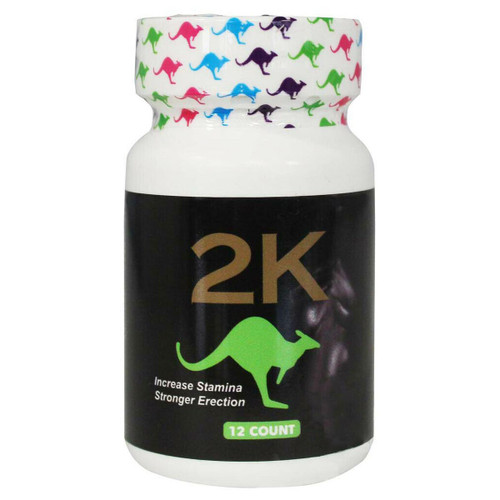Kangaroo 2K Green 12ct bottle front image