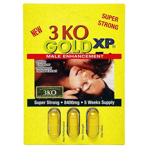 3KO Gold XT Triple Pill