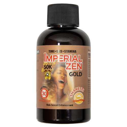 Imperial Zen Gold 50K Liquid Front