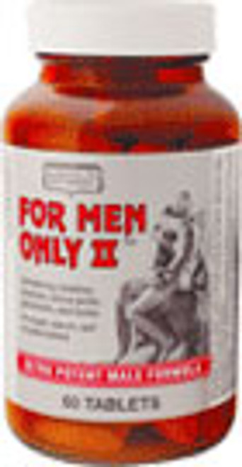 For Men Only II 30ct Only Natural