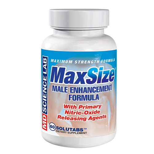 MaxSize Male Enhancement 60ct by MD Science Lab