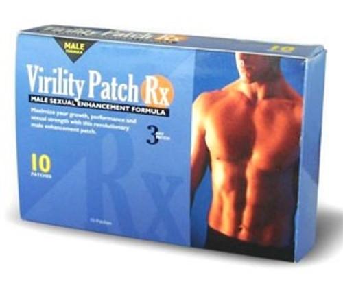 virility patch rx male enhancement formula
