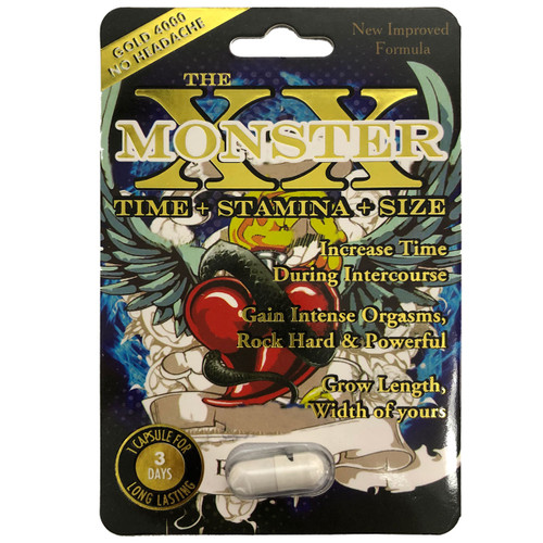 XX Monster 1 count front