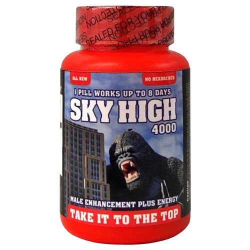 Sky High 6 count bottle front