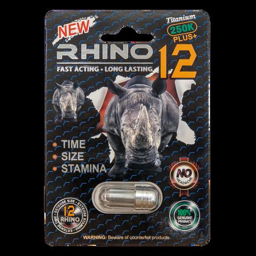 Rhino 12 Titanium 250k Plus Front