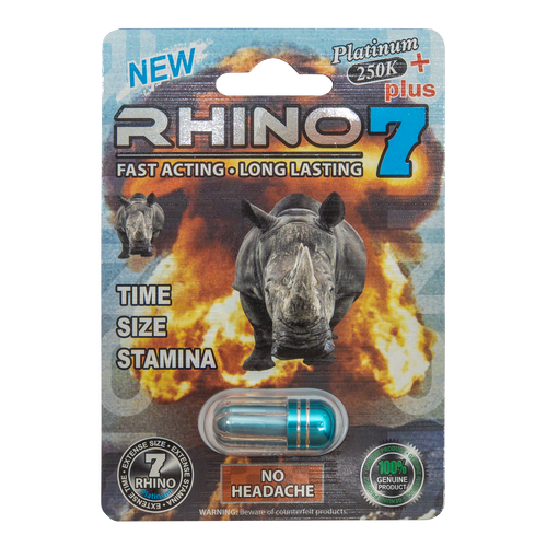 Rhino 7 Platinum 250k Plus Front