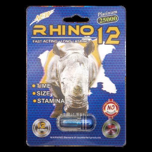 Rhino 12 Platinum 25000 Front